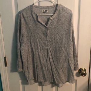 Old navy button tunic